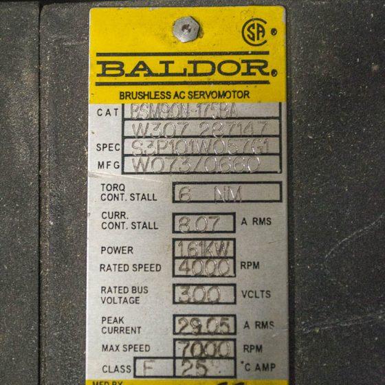 Baldor Brushless Servo Motor