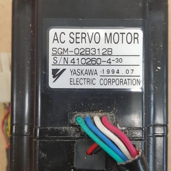AC Servo Motor SGM-02B312B