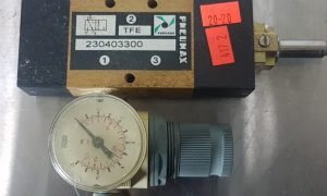 Pneumax Solenoid Valve 230403300 with pressure regulator