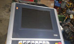 Biesse CNI control screen