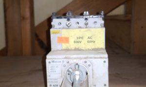 Moeller 600V NZM1 circuit breaker