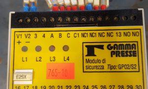 GAMMA PRESSE SAFETY MODULE GP02/S2