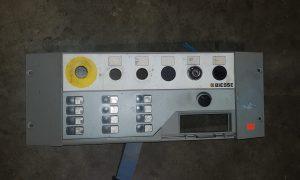 Biesse rover cnc control panel