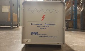 GTB 1000 KVA Electronic Stabilizer