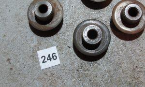3 Ridgid F-515 Cutter wheels & 2 F-229 Cutter wheels