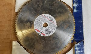 3 12in Industrial Saw Blade
