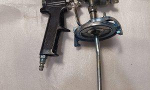 Black Spray Paint Gun