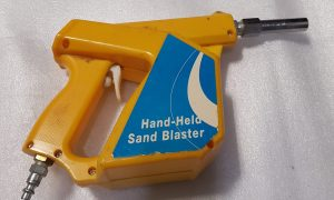 handheld sand blaster