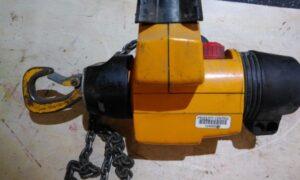 Demag DSM5 chain remote lift unit 550 lbs